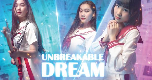 pink navy Unbreakable Dream